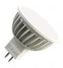 Светодиодная (LED) лампа Ecomir 4W(4вт), GU5.3, 12V,желтый свет,световой поток 300лм (43088)