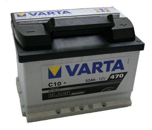 Аккумуляторная батарея Varta Black Dynamic 53Ач EN480А о.п. (242х175х175, B13) C11 / 553 401 050