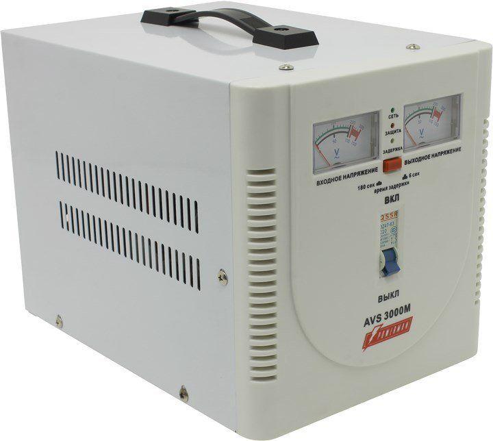 Однофазный стабилизатор напряжения POWERMAN AVS 3000M