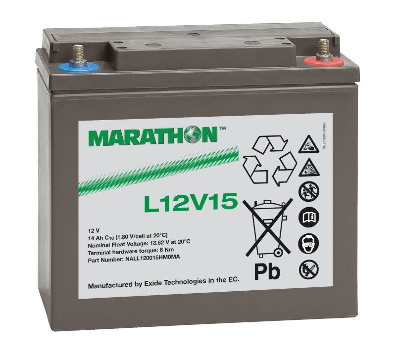 Аккумуляторная батарея MARATHON L 12V 15