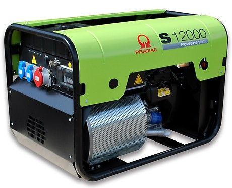 Бензиновый генератор Pramac  S12000, 400/230V, 50Hz #CONN