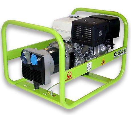 Бензиновый генератор Pramac  E5000, 230V, 50Hz