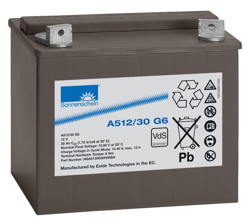 Аккумуляторная батарея SONNENSCHEIN A 512/30.0 G6