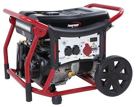 Бензиновый генератор Pramac  WX6250ES, 400/230V, 50Hz #AVR #Wheel kit