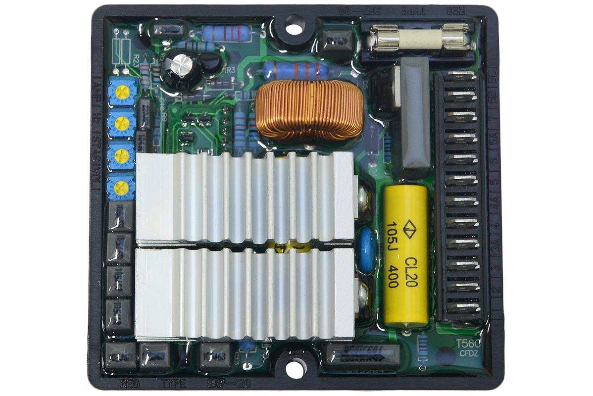 Регулятор напряжения SR7-2G / SR7-2G AVR