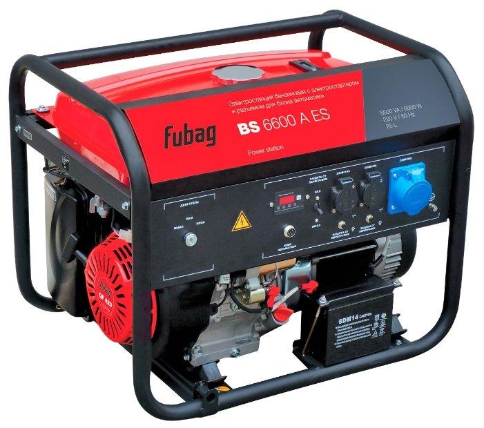 Бензиновая электростанция (генератор) FUBAG BS 6600 A ES