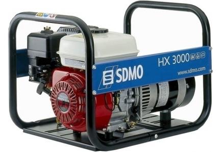 Однофазный бензиновый генератор SDMO HX 3000-C (S)