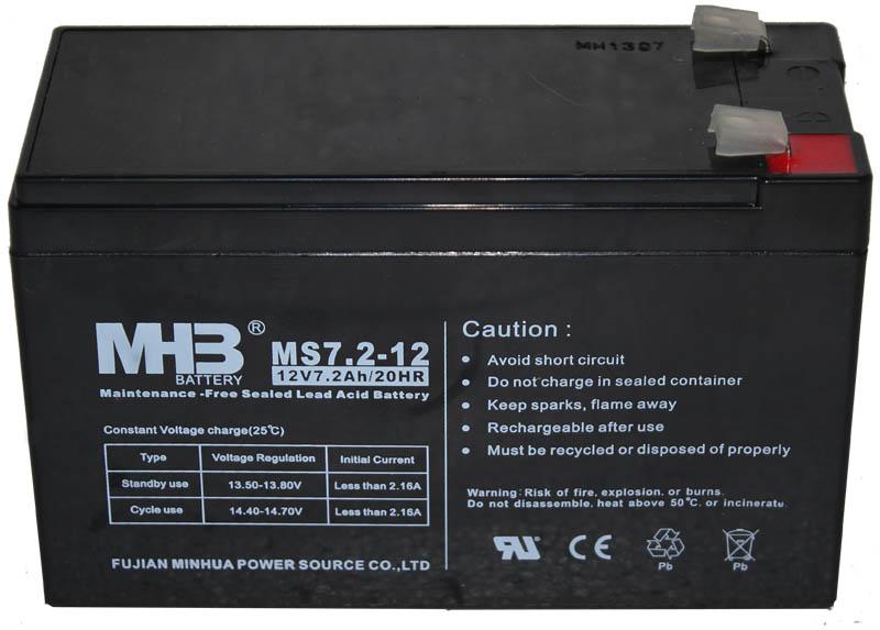 Аккумуляторная батарея MHB/MNB MS7.2-12 F2