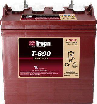 Тяговый аккумулятор Trojan T890