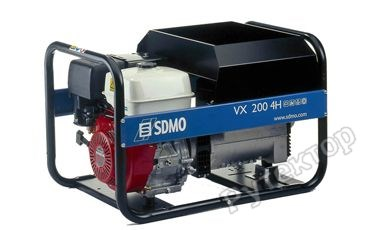 Бензиновый генератор SDMO VX200/4H C (3600 Вт)