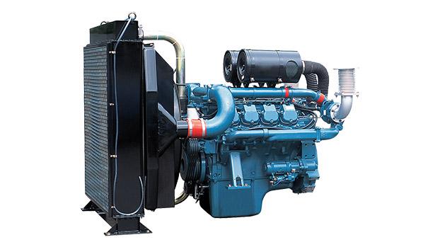 Дизельный двигатель Doosan P158FE для дизель-генераторных электростанций