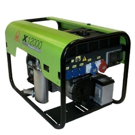 Бензиновый генератор Pramac  X12000, 400/230V, 50Hz