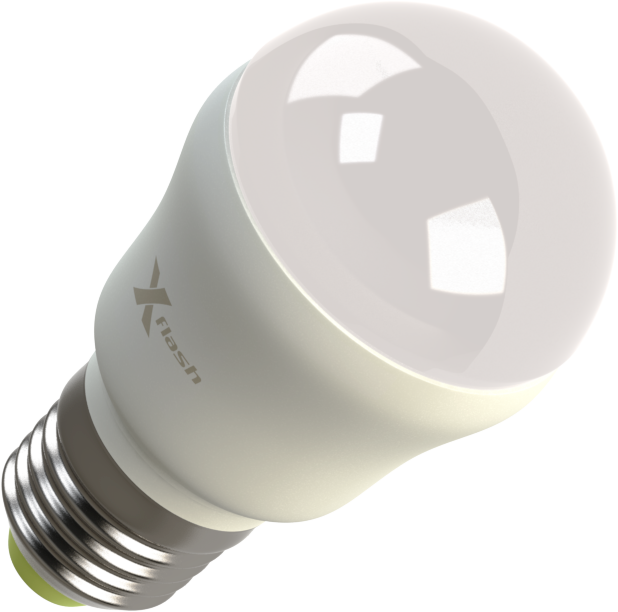 Светодиодная (LED) лампа X-Flash MINI E27 4W(4вт),белый свет 4000K,световой поток 420лм,220V(в)  (42579)