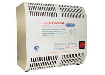 Однофазный стабилизатор напряжения LIDER PS 2000 W-50
