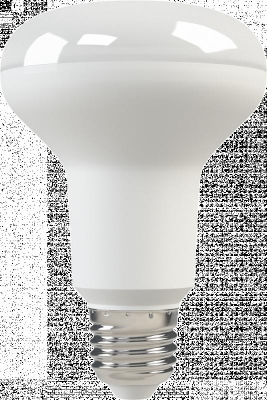 Светодиодная (LED) лампа X-Flash Fungus R80 E27 10W(10вт),желтый свет 3000K,световой поток 830лм, 220V(в) (44962)