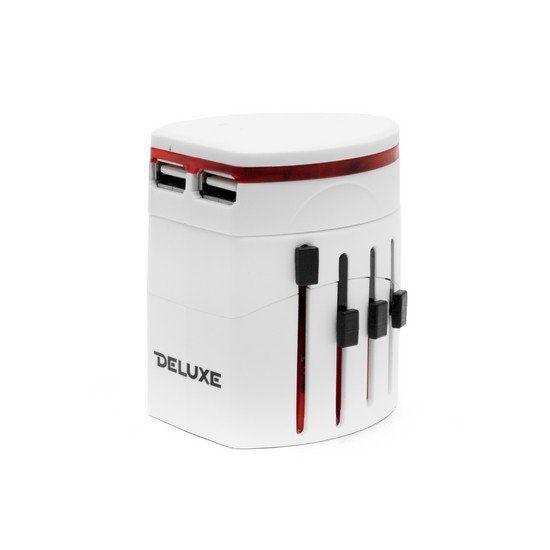 Универсальный адаптер Deluxe DWTAU01W Белый