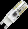 Светодиодная (LED) лампа X-Flash Finger G9 3W(3вт),белый свет 4000K,световой поток 230лм, 220V(в) (45129)