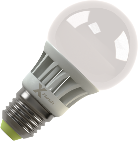 Светодиодная (LED) лампа X-Flash GLOBE E27 4W(4вт),белый свет 4000K,световой поток 370лм,220V(в) (44719)
