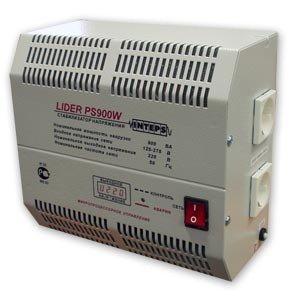 Однофазный стабилизатор напряжения LIDER PS 900 W-50