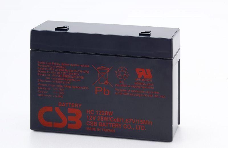 Аккумуляторная батарея CSB HC 1228 W