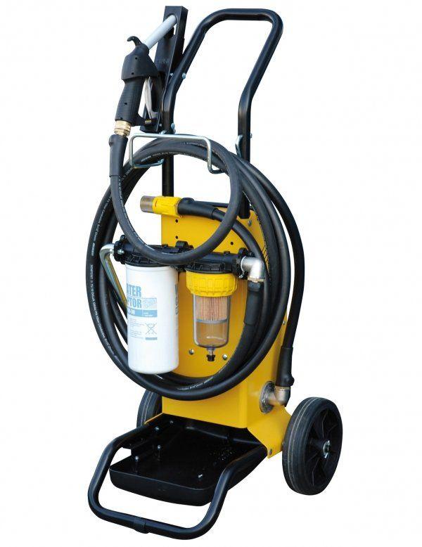 Установка для перекачки и фильтрации топлива и масла  Piusi Filtroll Diesel