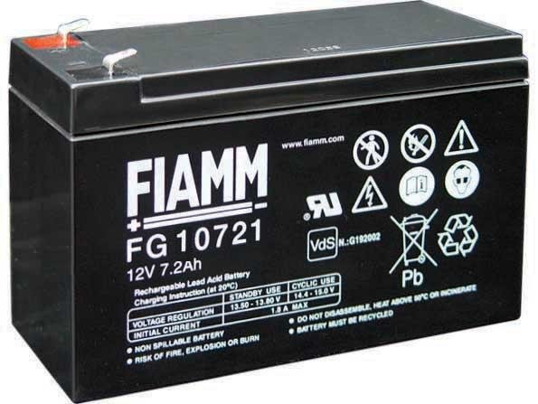Аккумуляторная батарея FIAMM FG 20721
