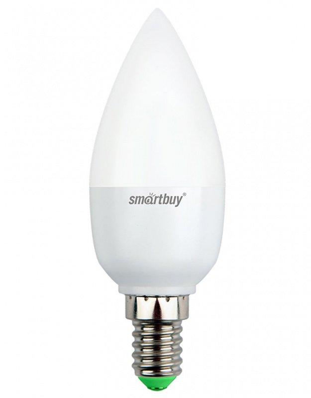 Светодиодная (LED) Лампа Smartbuy-C37-05W/3000/E14 (SBL-C37-05-30K-E14)