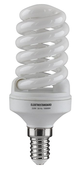 Энергосберегающая лампа Elektrostandard Компактный винт E14 15 Вт 2700K