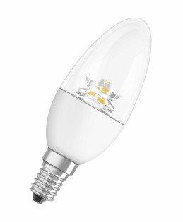 Светодиодная (LED) лампа Osram LS CLВ40 6W/827 CS 220-240V E14 470Lm (LED замена Class B) 105x39mm