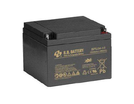 Аккумуляторная батарея B.B.Battery BPL 26-12