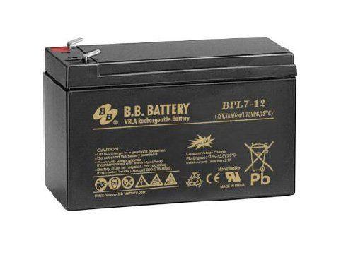 Аккумуляторная батарея B.B.Battery BPL 7-12