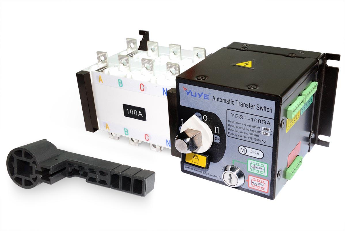 Реверсивный рубильник YES1-100GA/4P In100A