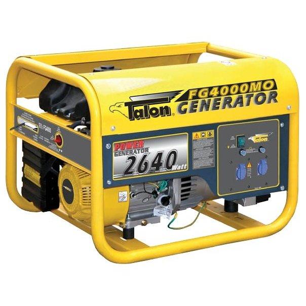 Однофазный бензиновый генератор TALON FG4000MO