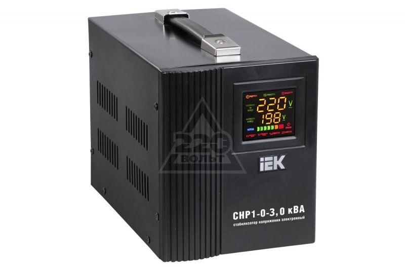Стабилизатор напряжения однофазный IEK Home СНР1-0-3 кВА