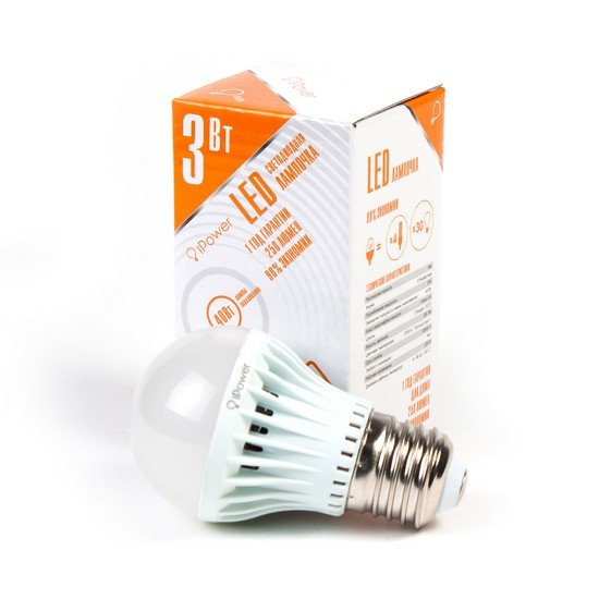LED Лампа iPower IPHB3W2700KE27