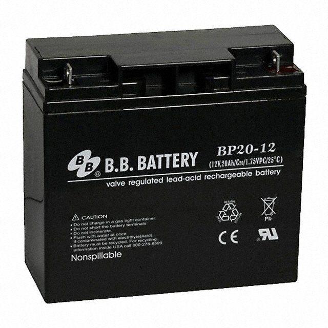 Аккумуляторная батарея B.B.Battery BP 20-12
