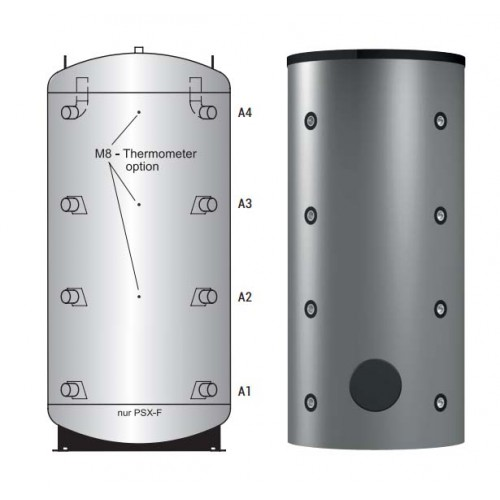 Буферная емкость Huch EnTEC PS-GWT ECO 500
