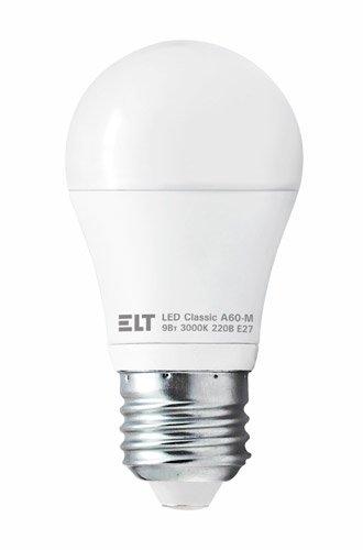 Светодиодная (LED) лампа ELT LED Classic A60-M 9W E27 4000