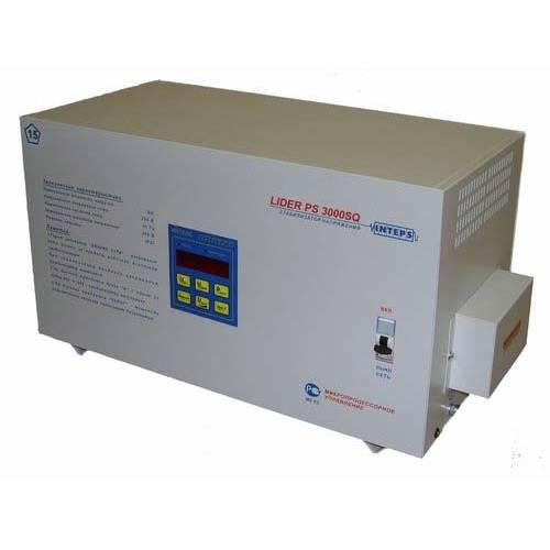 Однофазный стабилизатор напряжения LIDER PS 3000 SQ-L