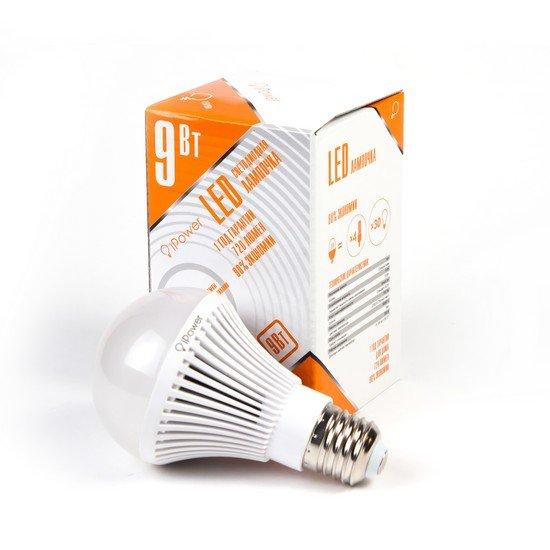 LED Лампа iPower IPHB9W2700KE27