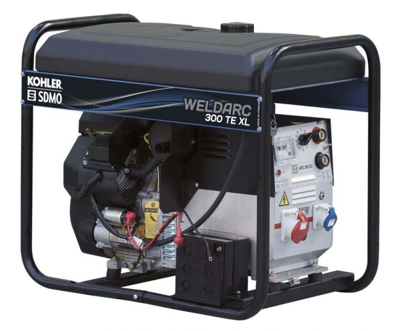 Трехфазный бензиновый сварочный генератор SDMO Weldarc 300 TE XL C