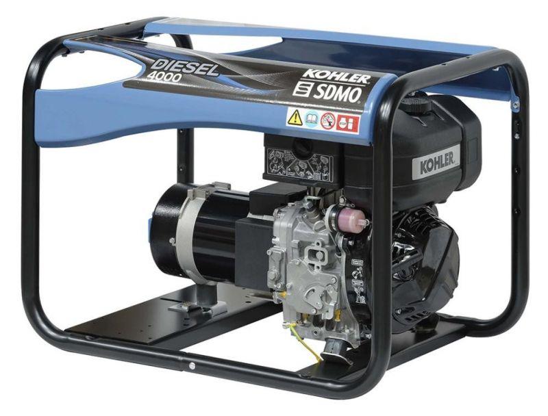 Однофазный дизельный генератор SDMO Diesel 4000 C