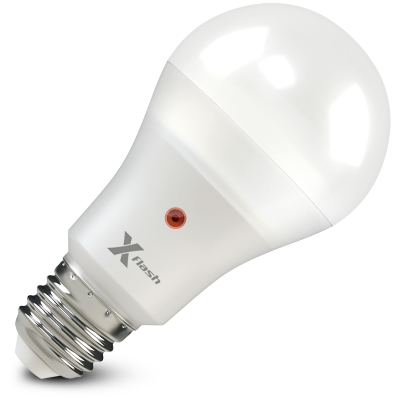 Светодиодная (LED) лампа X-Flash серия Smart XF-E27-OCL-A65-P-12W-3000K-220V (46645)