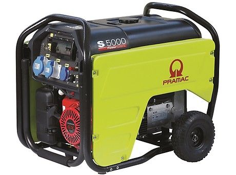 Бензиновый генератор Pramac  S5000, 400/230V, 50Hz #AVR #IPP