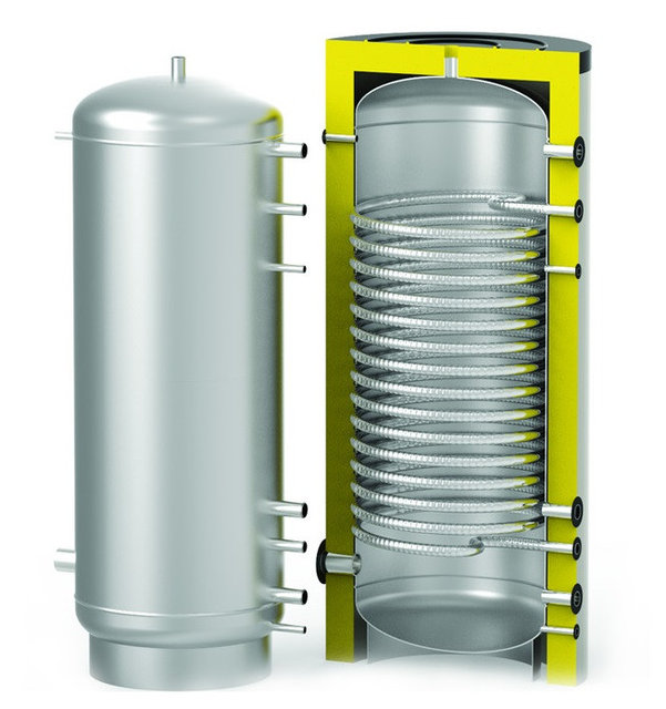 Бойлер косвенного нагрева для работы с тепловым насосом  S-Tank SS-HP 2000