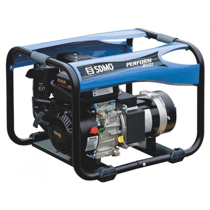Однофазный бензиновый генератор SDMO PERFORM 4500