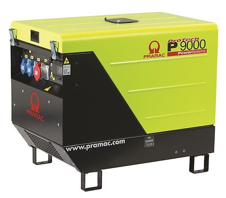 Дизельный генератор Pramac P9000, 400/230V, 50Hz #AVR #CONN #DPP