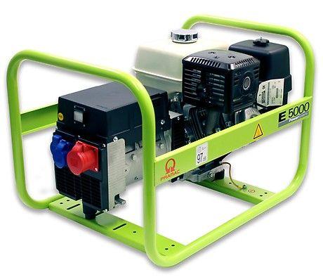 Бензиновый генератор Pramac  E5000, 400/230V, 50Hz