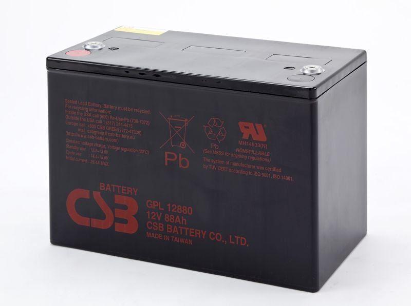 Аккумуляторная батарея CSB GPL 12880
