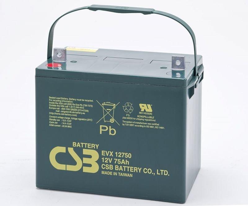 Аккумуляторная батарея CSB EVX 12750